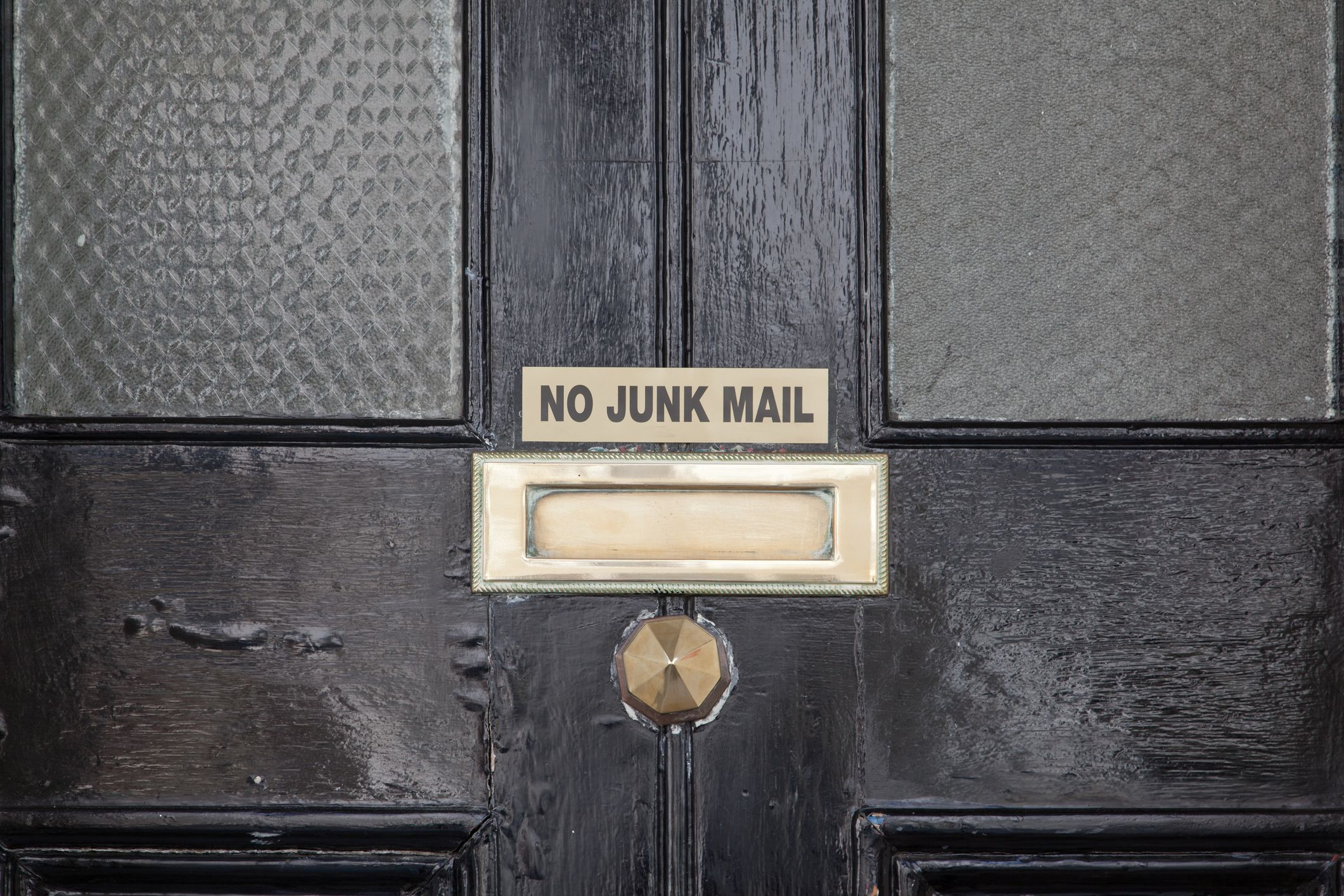 Junk mail is not their problem.