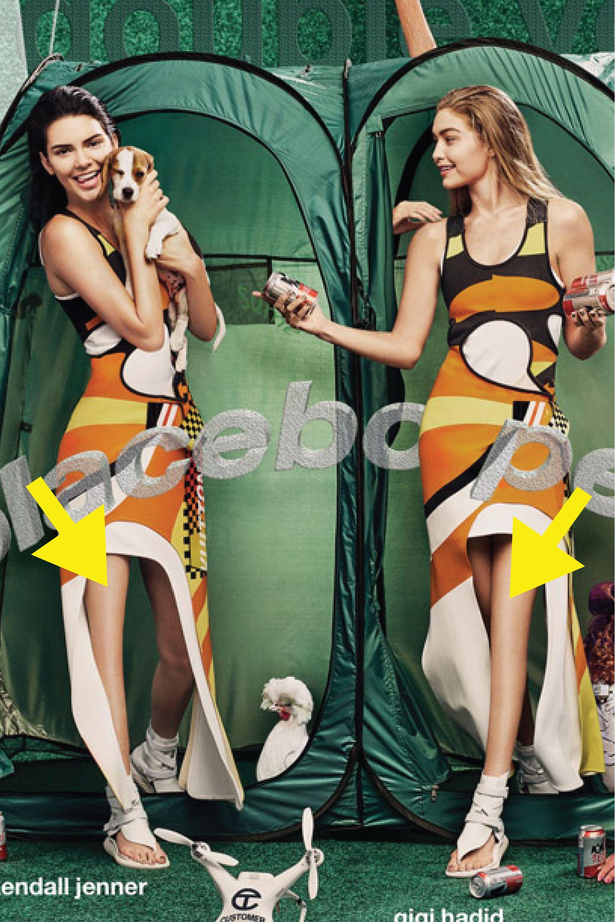 Kendall Jenner and Gigi Hadid Fall Victim to Terrible Photoshop Fail