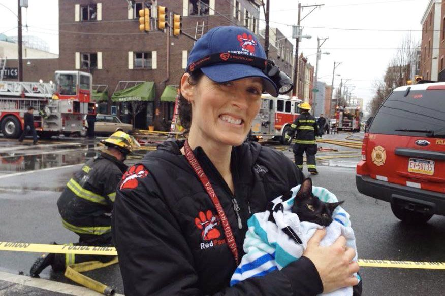 One Firefighter Is Using Her Lifesaving Skills to Save Animals In Danger