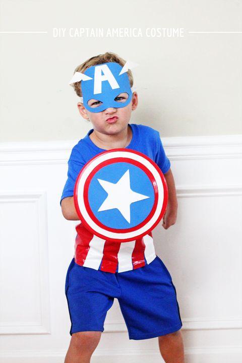 no sew captain america costume