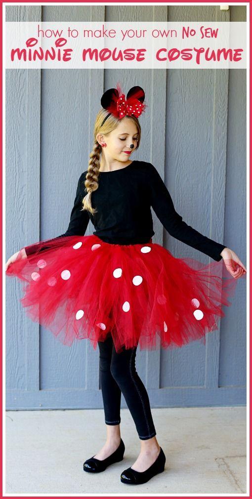 Minnie Mouse Costume Adult Disney Halloween Fancy Dress