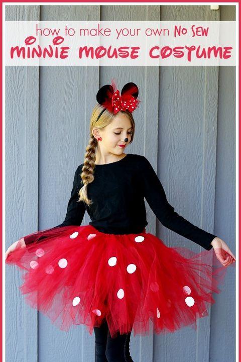 9a1cdfa9a26 15 DIY Minnie Mouse Costume Ideas - Minnie Mouse Halloween Costumes ...