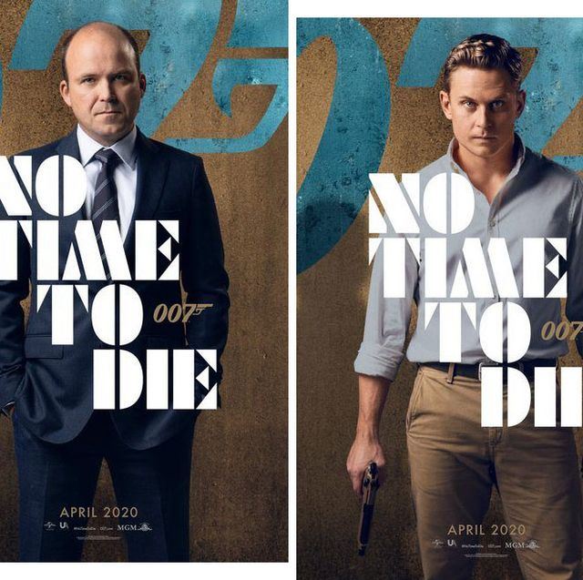 New No Time To Die posters
