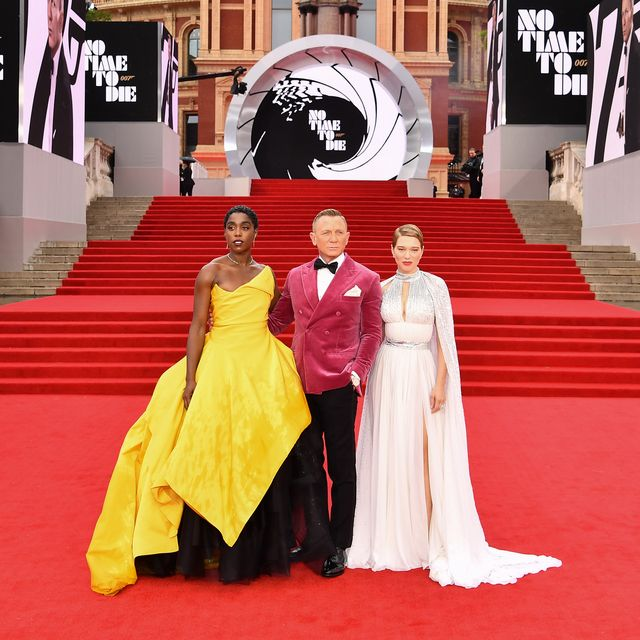 The 10 best red-carpet fashion moments from the premiere of No Time To Die