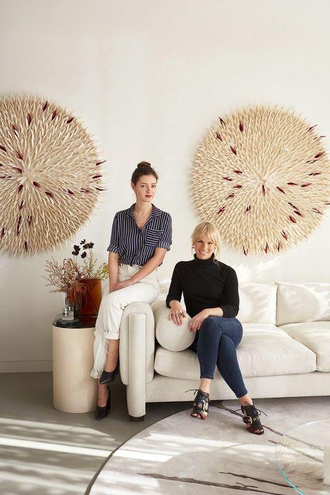 Portrait of Emma Rayner and Katie Earl of Studio No. 12