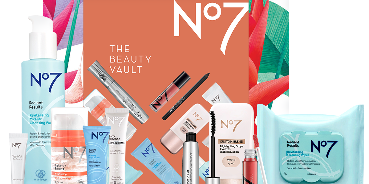 A £32 No.7 beauty box worth £130 to hit the shelves next week