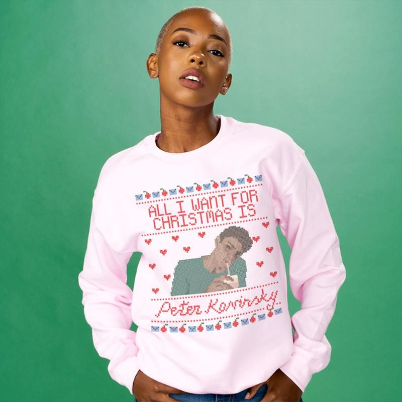 Peter Kavinsky Noah Centineo Christmas Sweatshirt