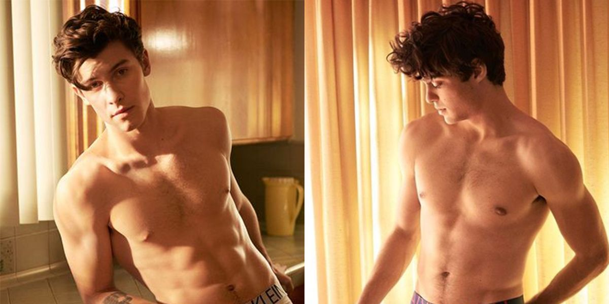 Shawn Mendes and Noah Centineo Go Almost Completely Nude