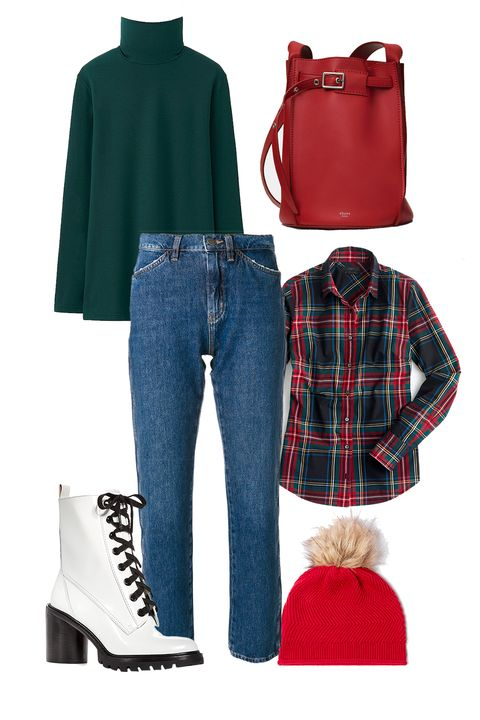 Plaid, Clothing, Tartan, Footwear, Pattern, Blue, Jeans, Red, Fashion, Design,