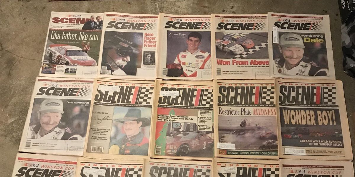 Rick Houston Runs to Preserve NASCAR History, One Page at a Time