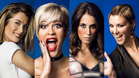 Face, Hair, Facial expression, Eyebrow, Beauty, Chin, Fun, Lip, Nose, Mouth,
