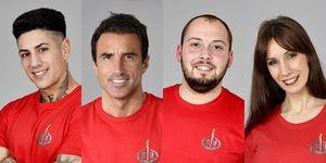 Nominados de Supervivientes 2020: Ferre, Hugo Sierra, José Antonio Avilés y Fani