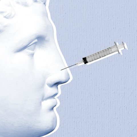 Nose, Medical equipment, Hypodermic needle, Chin, Smoking, Lip, Mouth, Jaw, Medical, Neck,