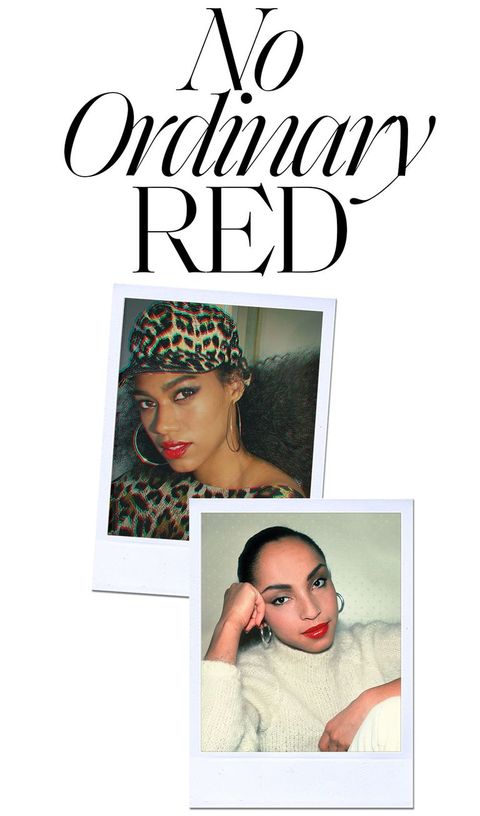 no ordinary red