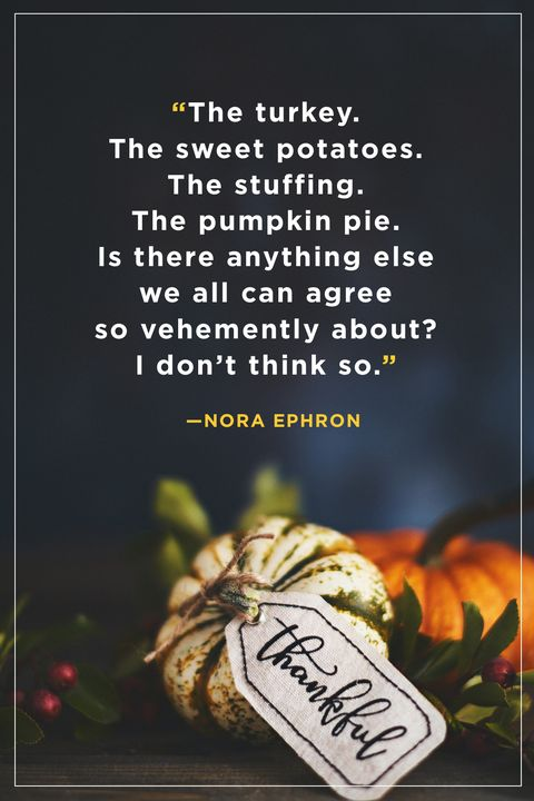 Thanksgiving Quotes Nora Ephron