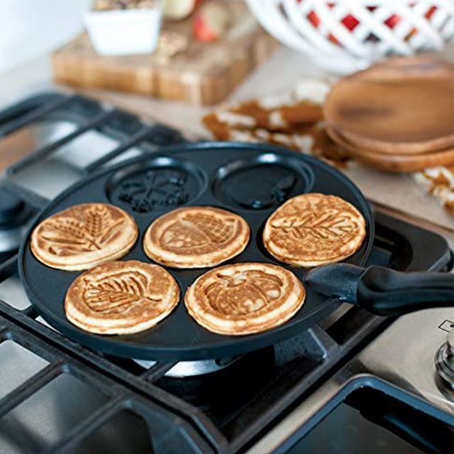 nordic ware autumn leaves pancake maker