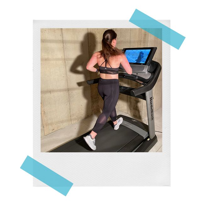 erica murphy using nordictrack 2950 treadmill