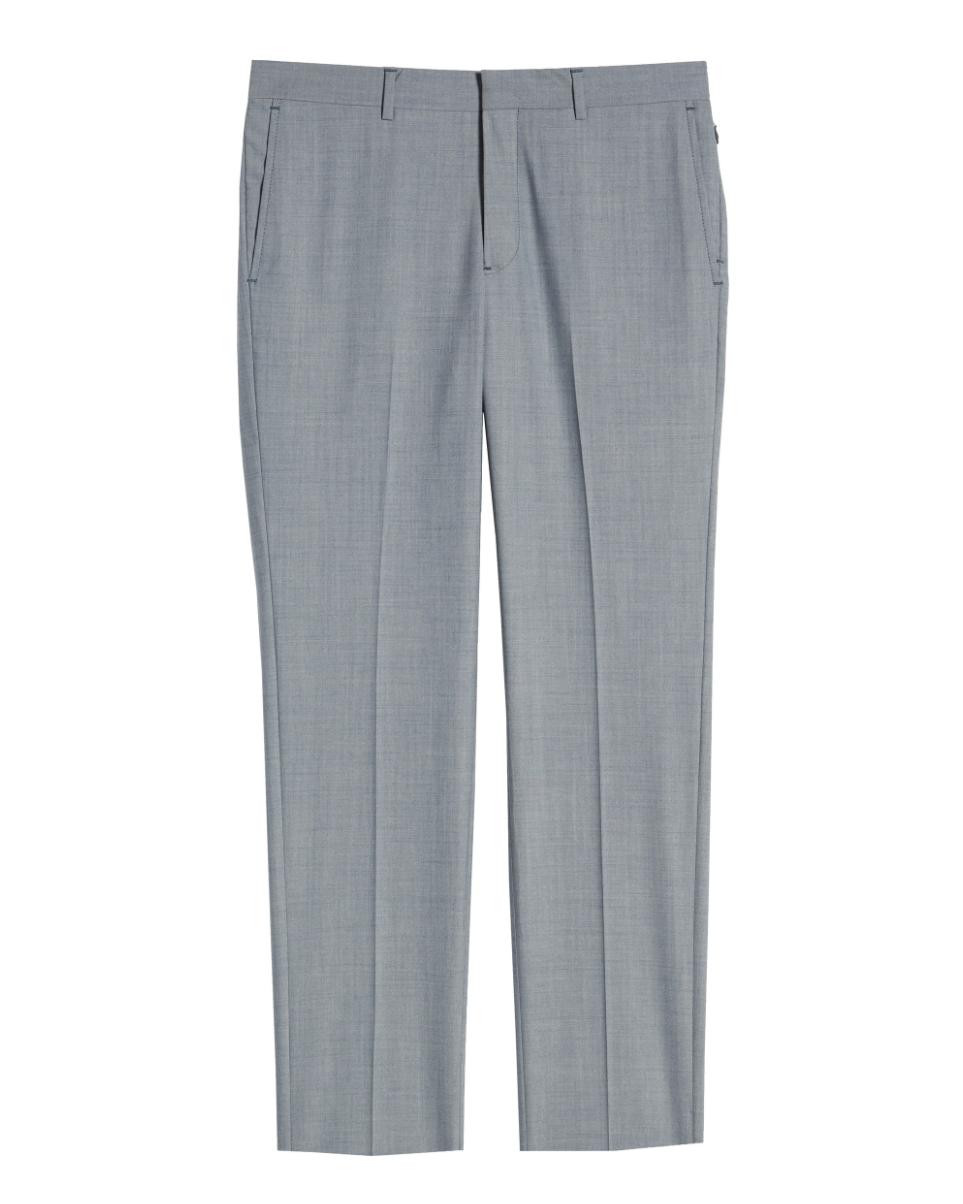 moda hombre, hugh jackman,pantalón azul