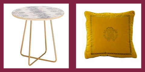 Yellow, Furniture, Stool, Table, Font, Pillow, Cushion, Home accessories, Throw pillow,