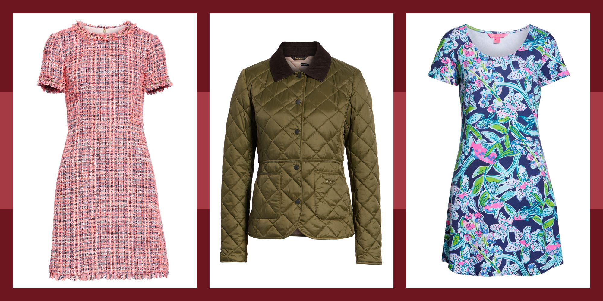 Stock Up on Your Favorite Barbour Jackets and DVF Wrap Dresses at Nordstrom Now