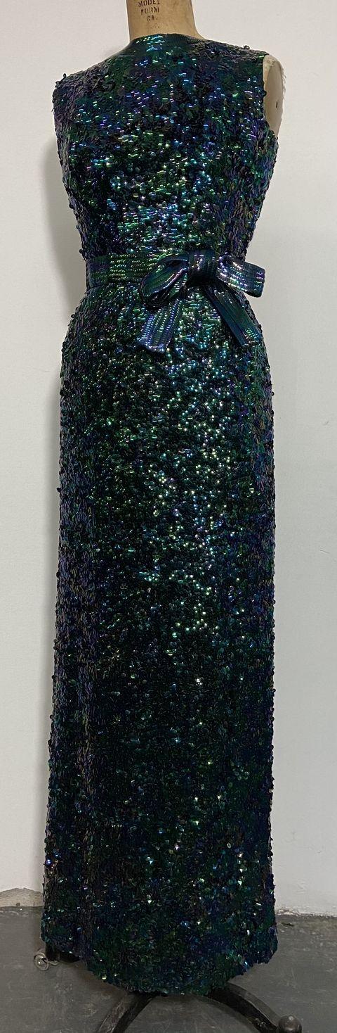 norell mermaid dress