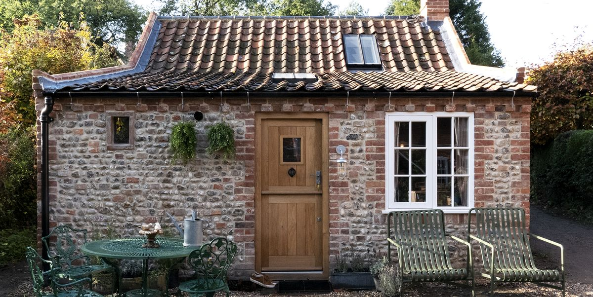This diminutive cottage makes the most of every inch inside