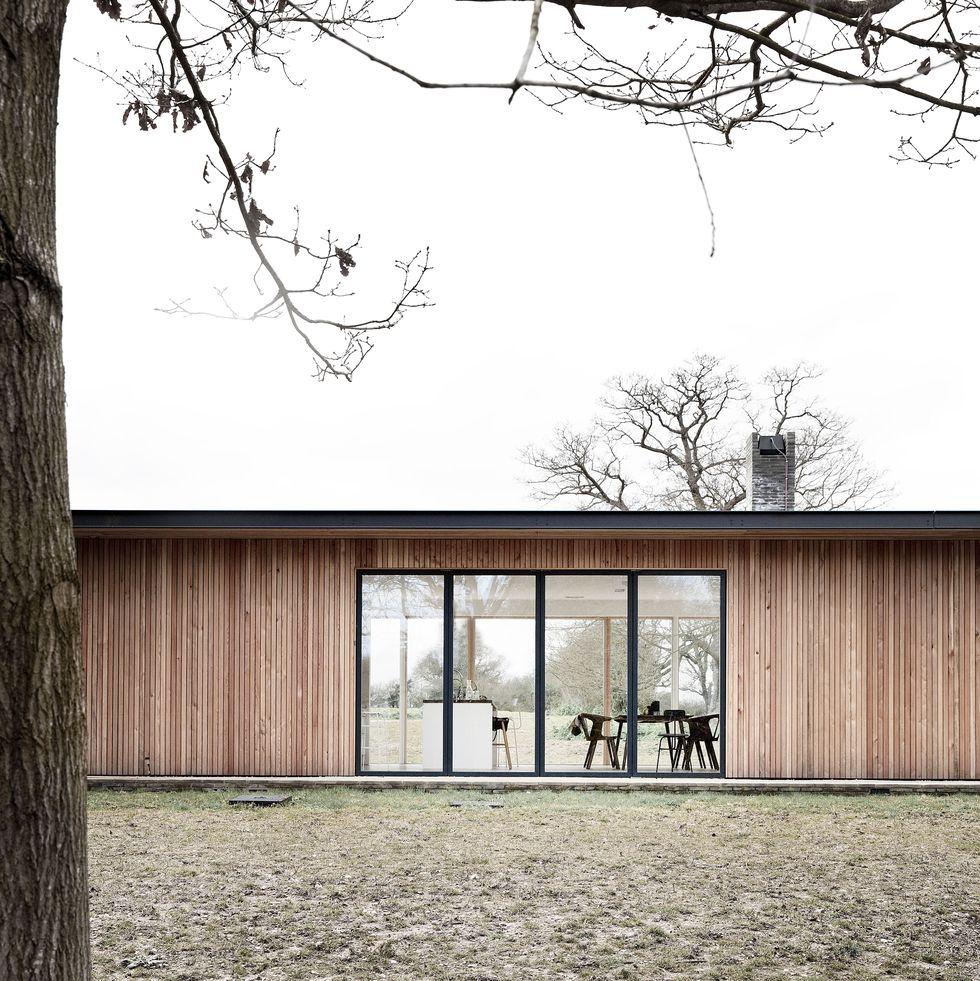 Una casa de campo de aires minimal