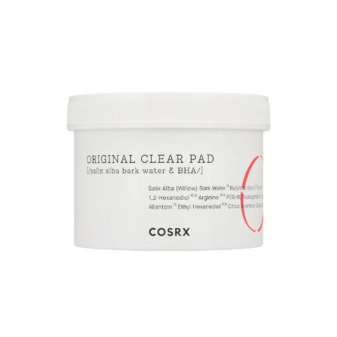 cosrx    cosrx one step original clear pad   exfoliërende pads