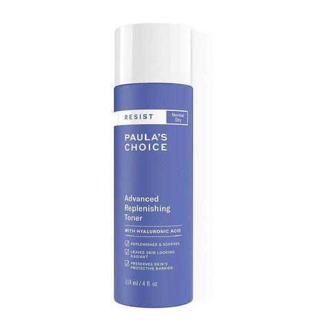 paula's choice resist anti aging replenishing toner met hyaluronzuur   118 ml hydraterende toner kalmeert de huid gaat huidveroudering tegen