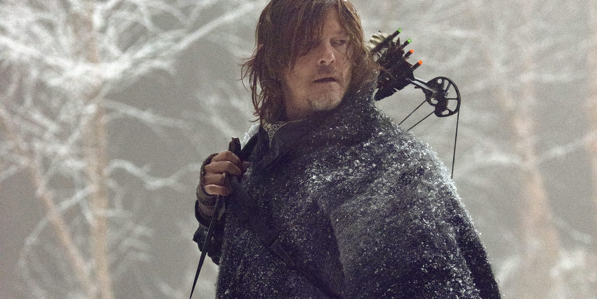 Norman Reedus as Daryl Dixon, The Walking Dead, s9 finale
