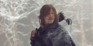Norman Reedus as Daryl Dixon, The Walking Dead, s9 finale