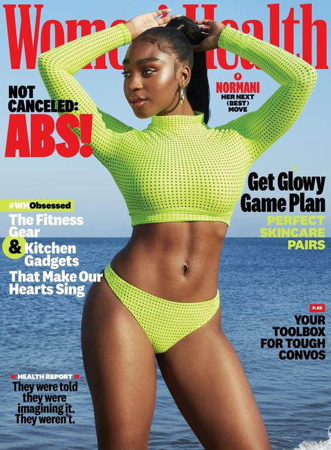 women's health december 2020 cover with normani
