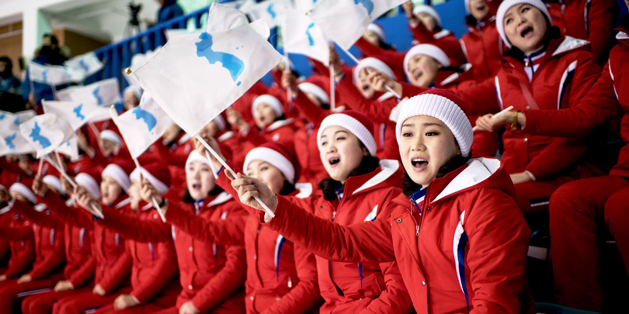 Everything You Need to Know About the North Korean Olympic Cheerleading  Squad