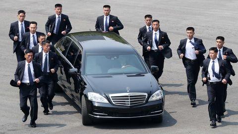 Hasil gambar untuk Mercedes-Benz Kim Jong Un