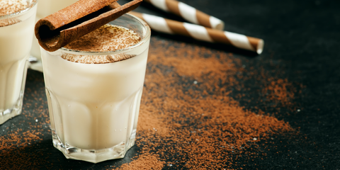 9dd09e8c7b7b 11 Easy Spiked Eggnog Recipes - Best Alcohol to Mix in Eggnog Drinks