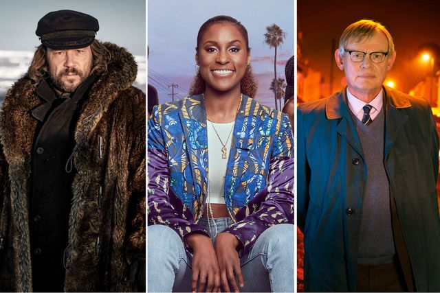 stephen graham in north water, issa rae in insecure, martin clunes in manhunt