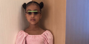 Los 'looks' más potentes de North West, la hija de Kim Kardashian.