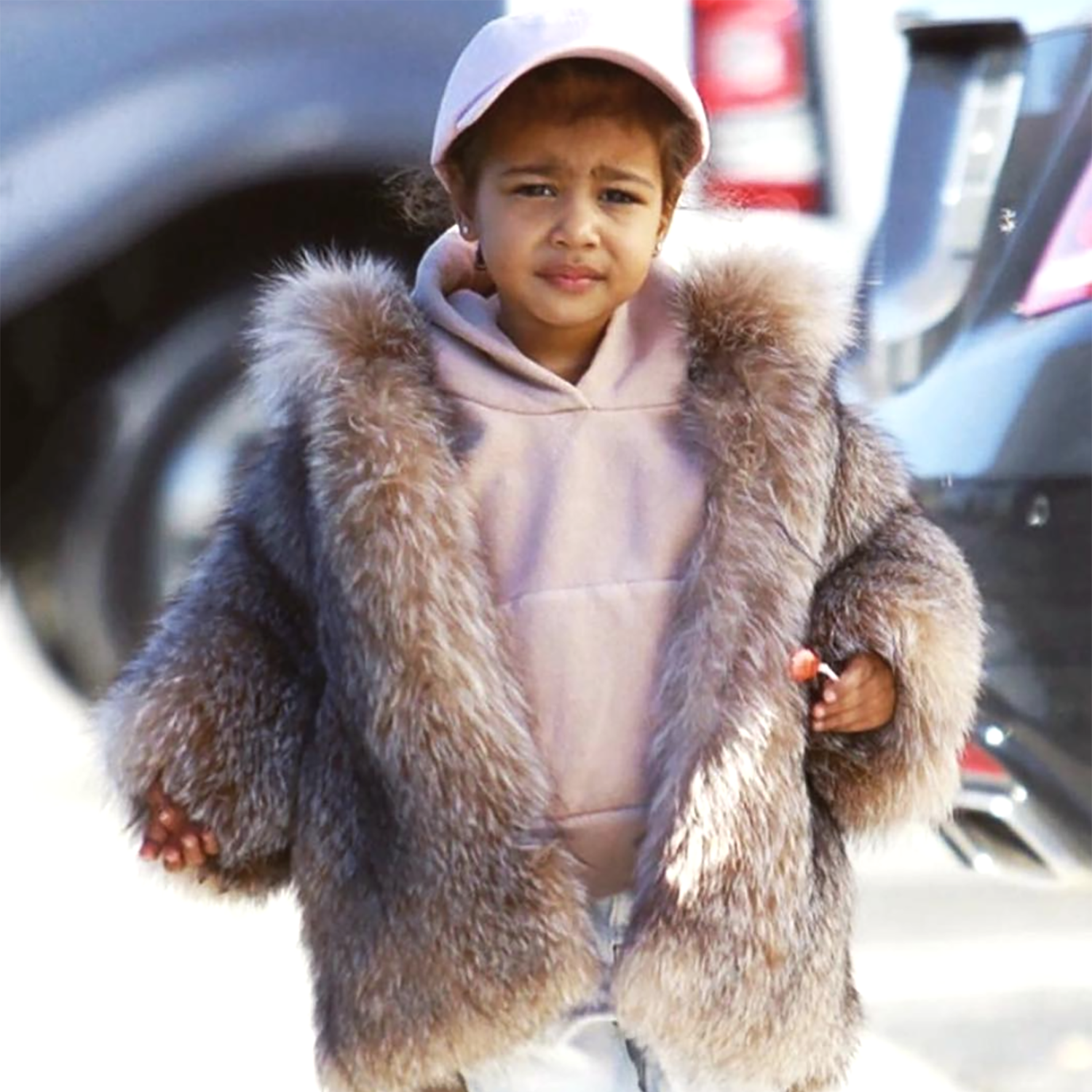 North West is apparently filming a video with YouTube star JoJo Siwa