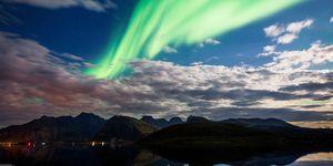 TOPSHOT-NORWAY-NATURE-ARCTIC-AURORA-BOREALIS