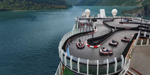 Cruise Line Offers a Shipboard Go-Kart Track