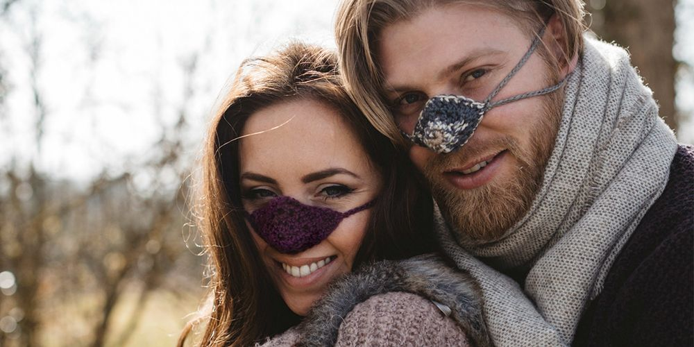 People Are Actually Wearing These Nose Warmers