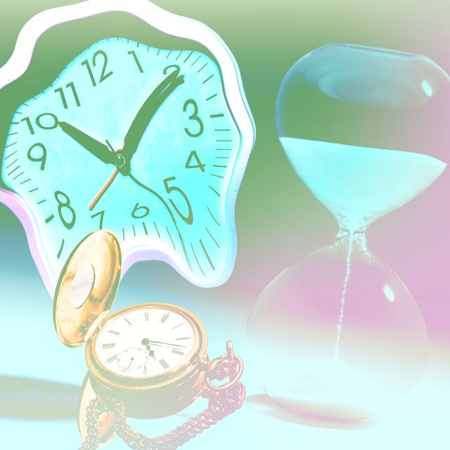 warped clocks time