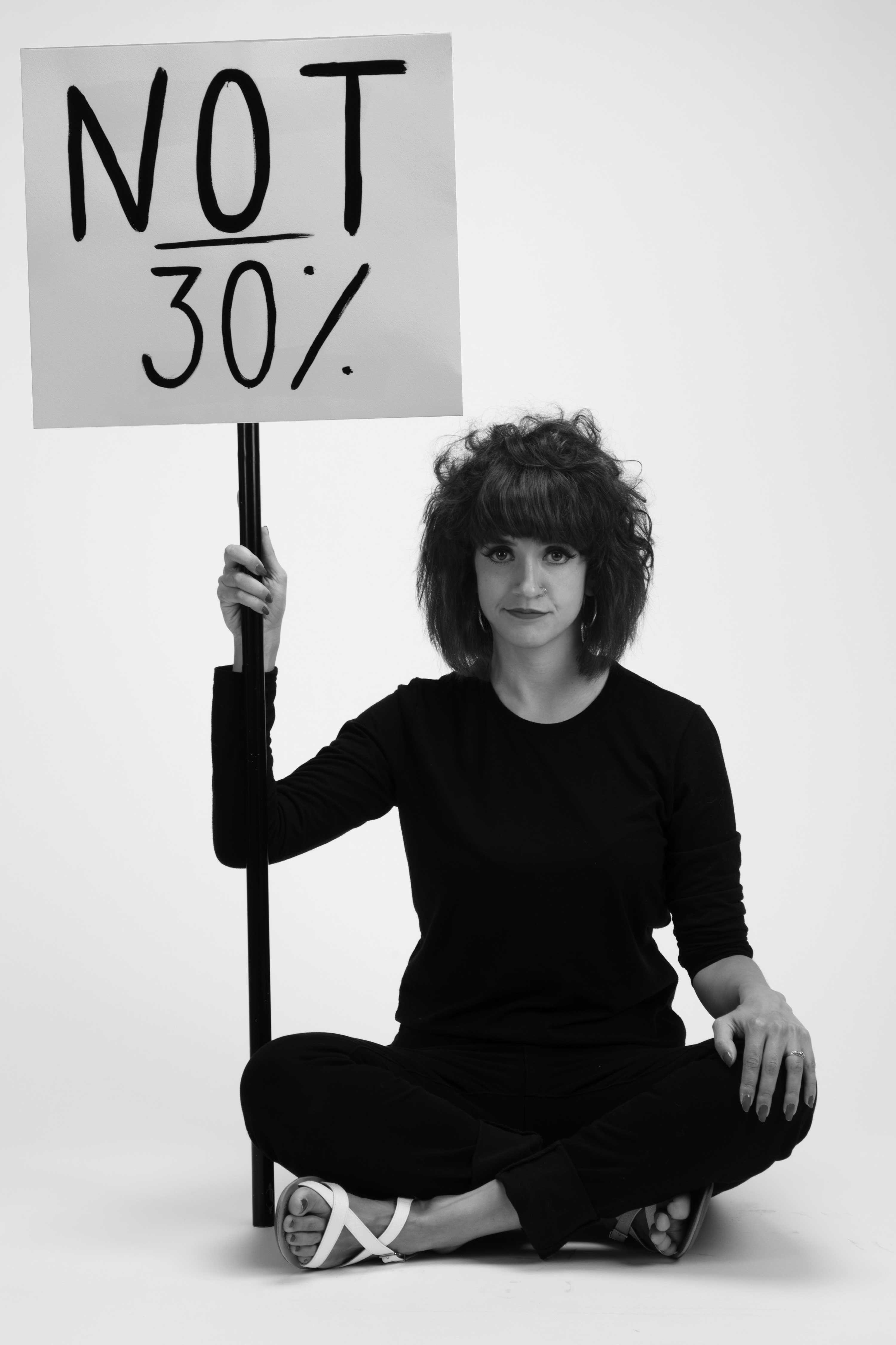 'Not 30%' C-type print, 42 x 59 cm, 2019