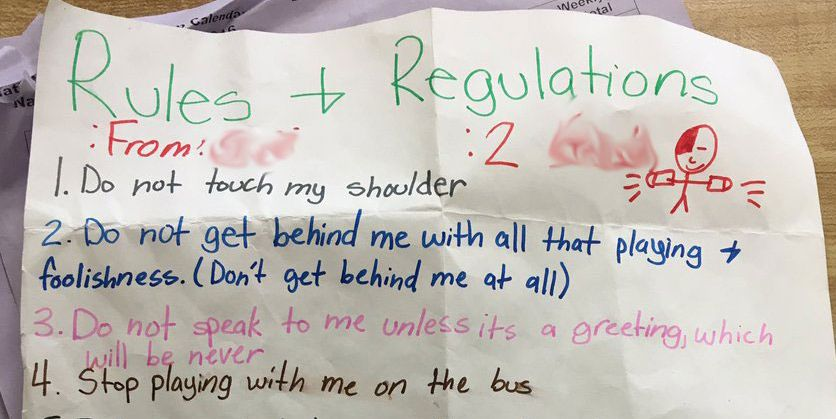 This Fifth Grader's List of Rules For a Boy Who Likes Her Should Be Required Reading For All Men