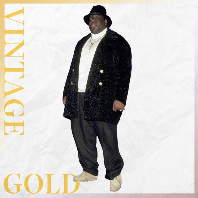 vintage gold, notorious big