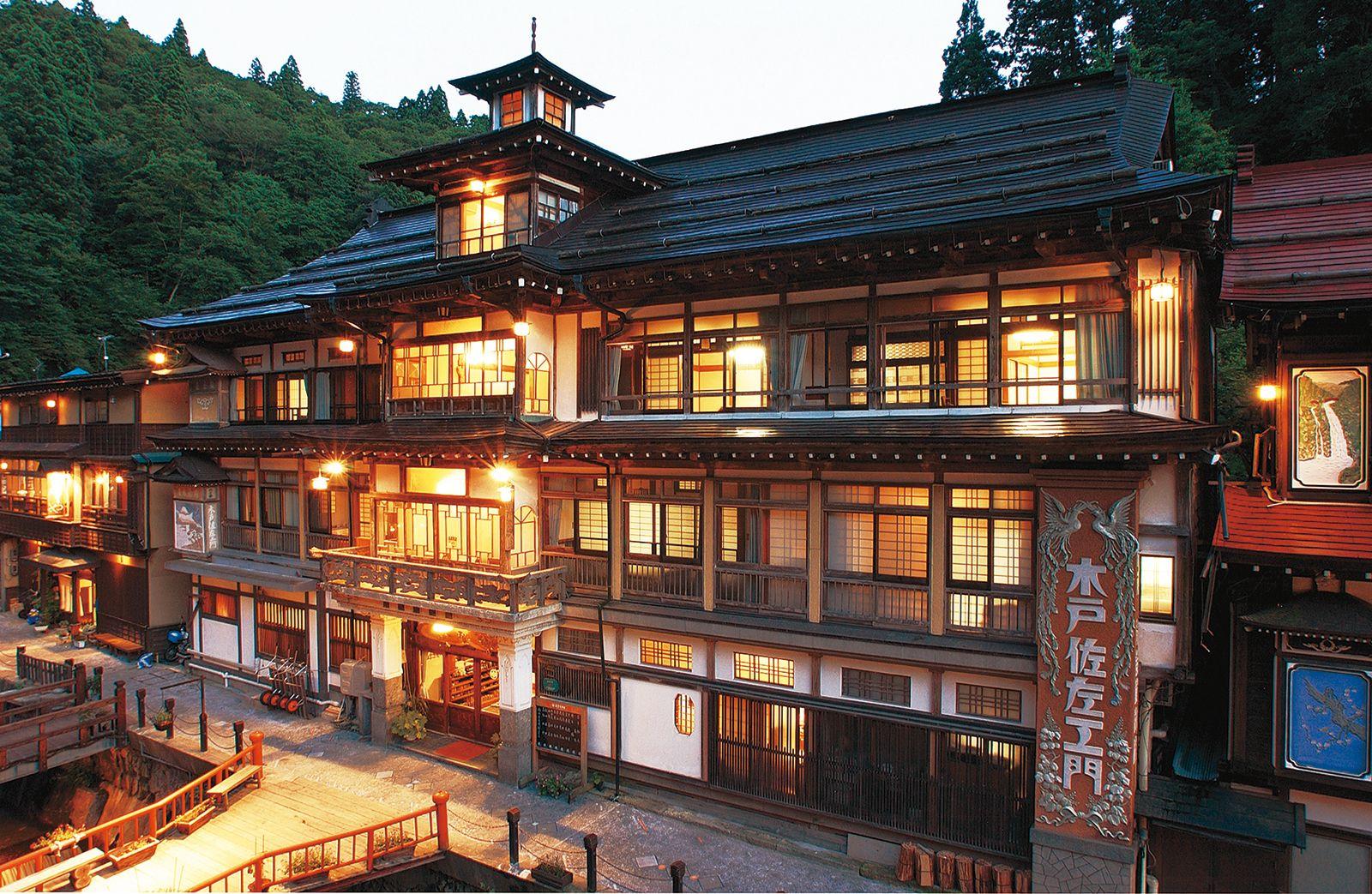 旅館 銀山 温泉
