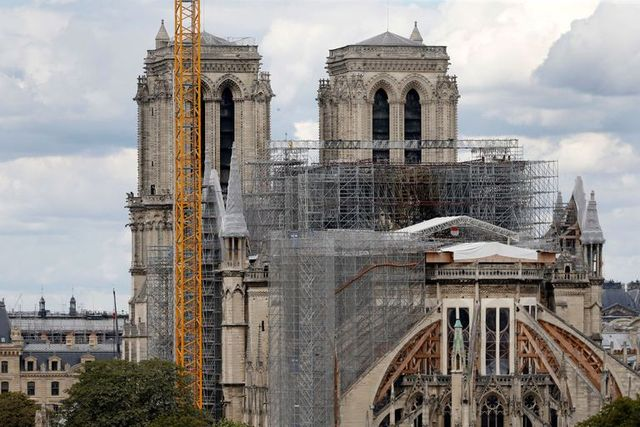 Notre Dame Cathedral Fire Update What New Notre Dame Looks Like