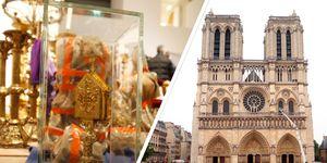 Estas son las obras y reliquias que se salvaron del incendio de Notre Dame