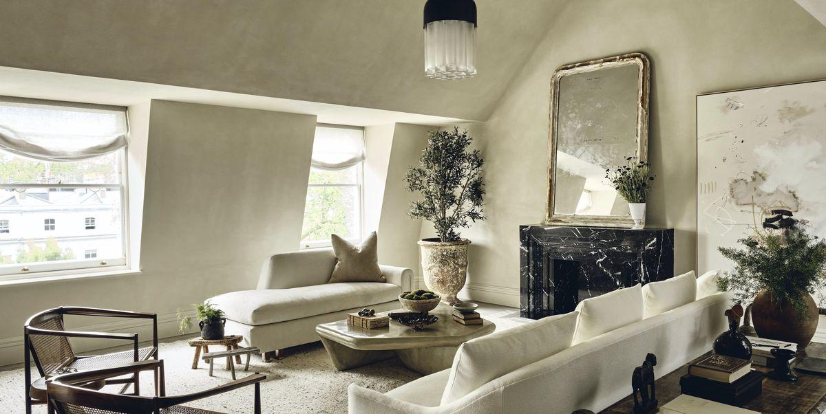 Wabi sabi influences turn this London penthouse into a sanctuary