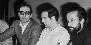 Cannes film festival in 1968 godard, truffaut, malle, lelouch, polanski